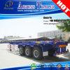 Nuevo Precio 3 Ejes Contenedores 40feet Skeleton Truck Trailer Chassis