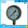 manomètre en laiton de connexion de caisse de l'acier inoxydable 4 de 100mm ''