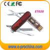 Multifuncional USB Drive Pen Drive con el cuchillo (ET020)