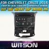 Reprodutor de DVD do carro de Witson para Chevrolet Cruze 2015 com sustentação do Internet DVR da ROM WiFi 3G do chipset 1080P 8g