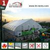 barraca da curva da largura de 40m com contra liso dos Sidewalls e do ar do PVC do branco para a exposição