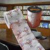 Papel de tejido impreso la Navidad de cuarto de baño de la novedad del rodillo de tocador