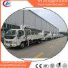 Sanyの公式FoldableアームSq3.2zk1を搭載する3.2ton貨物自動車によって取付けられるクレーン
