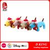 Hond van het Stuk speelgoed van de Pluche van de Giften van de Jonge geitjes van Kerstmis de Zachte