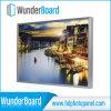 Cadre de photo en métal en forme de plug-in à vente chaude pour les panneaux photo en aluminium HD Wunderboard