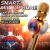 Neues Entwurf drahtloses Bluetooth Microphoone Karaoke-Mikrofon StereoBluetooth Lautsprecher mit uns Kapitän Shield Smart Microphone