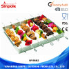 Cheap Wholesale Non-Stick Portable barbecue Brochettes en acier inoxydable