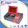 Einfach beweglichen CO2 Laser-Ausschnitt-Maschinen-Preis laufen lassen