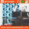 Papier de mur de projet de PVC de modèle moderne pour la décoration à la maison