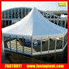 結婚披露宴のイベントのためのガラス壁の六角形の塔のCarpasのテント