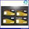 A impressão de cor quatro projeta o cartão plástico do PVC para o negócio