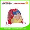 Comercio al por mayor impresas totalmente personalizadas Cartoon Drawstring Backpack Bag para niñas