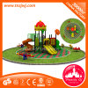 Equipo al aire libre al aire libre y estructuras de tipo escolar del juguete del patio