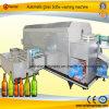De automatische Drogende Machine van het Flessenspoelen van het Glas