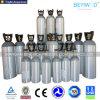 Cilindro de aluminio inconsútil de alta presión del CO2 con la aprobación de ISO/DOT/Tped/Ce