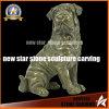 Statua animale del Figurine della scultura del Bull del cane di arte del bronzo inglese della decorazione