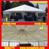 Flanc blanc Multi Côté tente de renom de la partie 6 m de diamètre 30 personnes places Guest