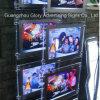 Вися СИД Crystal Light Box/Pocket для недвижимости Window Display
