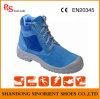 Encargado azul RS716 de los zapatos de seguridad del martillo del casquillo plástico de la punta