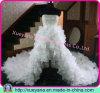 Trägerloses wulstiges Hallo-Lo Hochzeits-Kleid (XYN-22)