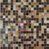 15*15*4mm熱いMelt Crystal Glass Mosaic (CSJ61)