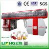 6 ci Élevés-Speed Flexo Printing Machine de couleur pour Plastic