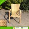 Турецкий популярный напольный Wicker штабелируя стул