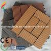 Деревянная пластичная составная плитка Decking DIY плитки Flooring/WPC (30S30-5)
