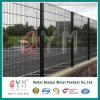 868金網の塀の倍の鉄条網656の溶接された塀を溶接した