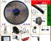 E Bikeのための48V 10A Lithium BatteryのブラシレスHub Motor Kits