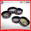 Stoneware nero Ceramic Ashtray con New York City Decal
