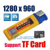 Прикуривателя USB Mini DV камера Cam поддержка TF карты
