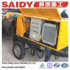 Saidy Diesel Mini Small Trailer Concrete Pump para Sale