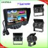 체계 (LW-070Q-A)를 반전하는 감시자 7 인치 쿼드 LCD