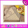 2014 het nieuwe Kleurrijke Houten Stuk speelgoed van Jonge geitjes voor het Schilderen, het Stuk speelgoed van Kinderen Popualr voor het Schilderen, het Hete Stuk speelgoed van het Onderwijs DIY van de Verkoop voor het Schilderen W03A071