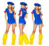 Leg Warmer를 가진 Blue Sailor Costumes