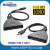 HDMI 3 in 1 schalten heraus HDMI Teiler Hdcp 1080P