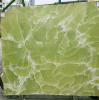 Lastre verdi del granito della galassia dell'oro del granito del Kerala