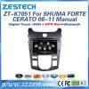 Rádio do GPS dos Avn do carro para KIA Cerato/Shuma/Forte 08-11