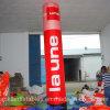 Колонка Manufactory Гуанчжоу выполненная на заказ напечатанная раздувная с умеренной ценой