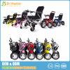 Preço elétrico fácil de Malaysia da cadeira de rodas da liga de alumínio da dobra com o pneu contínuo do plutônio