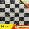 Черное белое Polished кристаллический украшение плитки стены пола фарфора (3K001)
