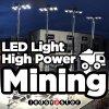 Iluminación industrial LED 100W de luz de prueba de explosión para el campo de minería de datos