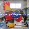Nouveau design logo gonflable Inflatable poulet pour la publicité