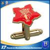 柔らかいエナメルとの人の高品質の方法金属のカフスボタン