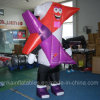 Рекламировать игру Moving Costume шаржа раздувного крытую