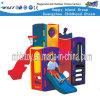 Дети играют на открытом воздухе оборудование пластиковые игровая площадка оборудования (HF-20402)