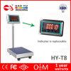 Máquina electrónica comercial industrial de la escala de la plataforma para pesar