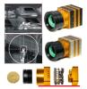 Faisceau de formation d'images thermiques de qualité avec des silicones amorphes Fpa