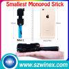 Aluminum&#160 atado con alambre; Selfie Stick with Cable para la cámara del teléfono móvil